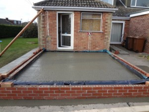 Concreted Sub Floor